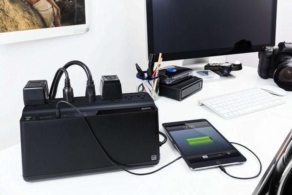APC UPS Battery Backup BE600M1